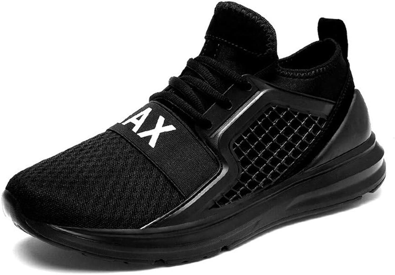 LUCKY-U Men shoes, Men Sports Walking Hiking Comfortable Running Jogging shoes