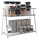 Ideal Rack ,this standing rack makes for the perfect sized appliance for any countertop. Whether you choose to place under the sink, on top of the kitchen counter, On kitchen Wall or bathroom counter, this rack will serve its purpose. Durable and Stu...