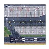 #N/A 1/5001/400モデル空港滑走路セクションシートジェット地上空港サービス