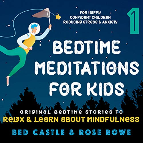 Bedtime Meditations for Kids Part 1  By  cover art