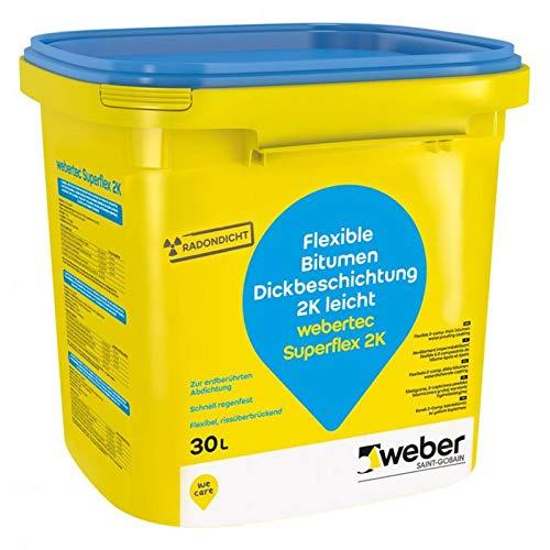 weber.tec Superflex 2K Flexible Bitumen Dickbeschichtung