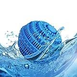 Bolas De Lavandería Single 105mm Azul Bolas De Secado Reutilizables Para Ropa Bola De Limpieza De Ropa atrapa el pelo de la lavadora Bola de Secado de Ropa Pelotas para la Limpieza de Ropa del hogar