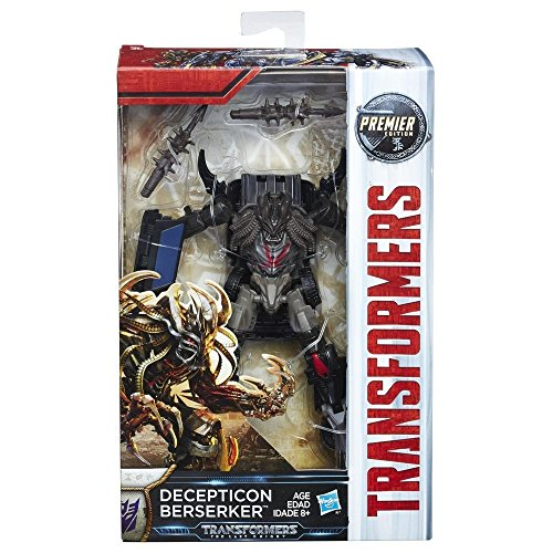 Hasbro Transformers C1322ES0 - Movie 5 Premier Deluxe Decepticon Berserker, Actionfigur