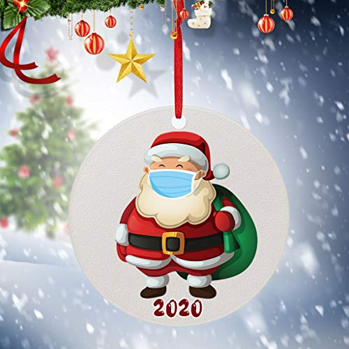 Buy Discount SKKRBMIT Hanging Ornaments 2020 Outdoor Holiday and Christmas Ornaments Porch & Tree Ya...