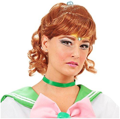 Incogneato Sailor Moon Sailor Jupiter Wig Adult One-Size