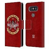 Head Case Designs sous Licence Officielle WWE Optez pour l'or 2 Wrestlemania 37 Logos Coque en Cuir...