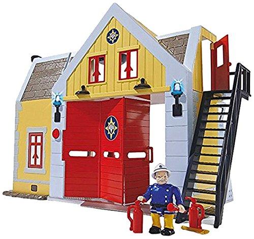 Giochi Preziosi Sam il Pompiere Gioco Caserma dei Pompieri con Luci e Suoni