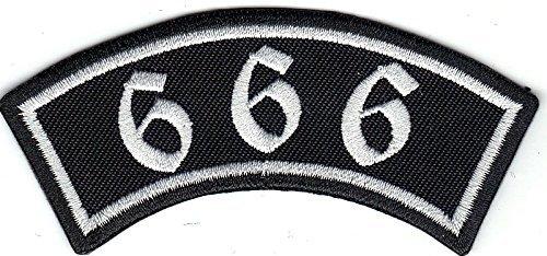 666 Free BIKER Rider Rankpatch Rocker Motorcycle Motorrad Aufnäher Patch Abzeichen