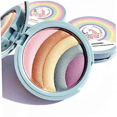 YIJIN Rainbow Strobe Highlighter Cheval Fard À Paupières Surligneur Maquillage Poudre Maquillage Cosmétique