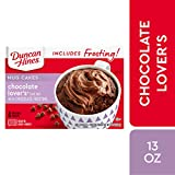 Duncan Hines Mug Cakes Chocolate Lover's Cake Mix with Chocolate Frosting, 13 OZ