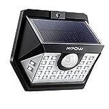 Mpow 30 LED Lampes Solaires Extérieur 3 Modes Intelligents Etanche IP65, Spot Solaire Détecteur de Mouvement, Eclairage Exterieur pour Jardin, Maison, Garage, Cour, Escalier, Patio
