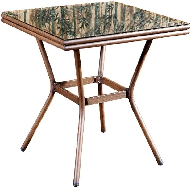 PIAOLING Outdoor Portable Folding Table Store supreme Bistro with 27.5''
