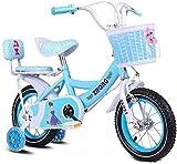 MIEMIE Bicicleta para niñas y niños Jenny Bunny 12 14 16 18 Bicicleta de 20 Pulgadas 3-12 años Cesta Ruedas de Entrenamiento Pata de Cabra Blanco Rosa Bicicleta Infantil, Rosa