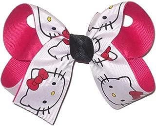 OV-1413M Medium Hello Kitty Double Layer Bow