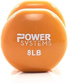 Power Systems Deluxe Vinyl Dumbbell Prime - Sold Individually