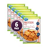 Kay's Naturals - Protein Chips - Chili Nacho Cheese - 6 Bags - High Protein 12g - Gluten Free