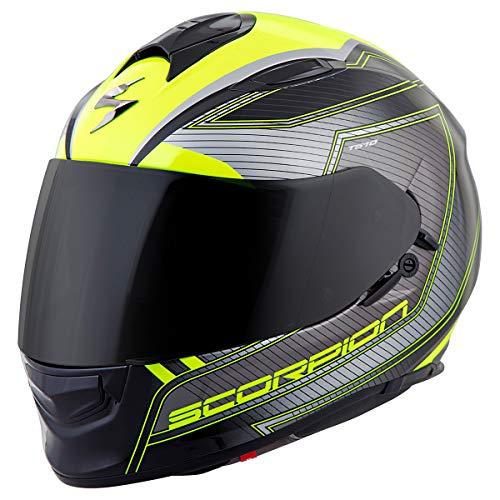 ScorpionExo Unisex-Adult full-face-helmet-style EXO-T510 Helmet (Neon/Black,Medium), 1 Pack