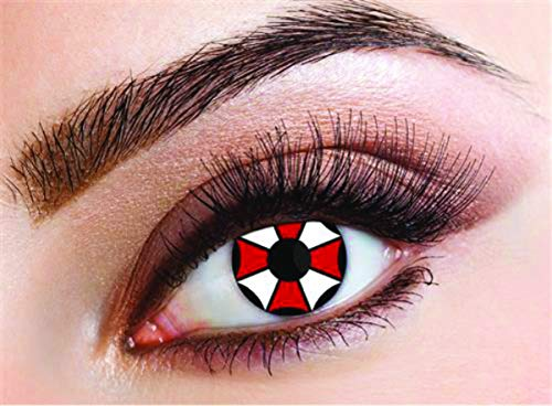Haza Original weiche Kontaktlinsen Umbrella Corporation 2 Stück