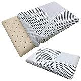 Cuscino Per Bambino 30x50x5.5 cm Memory Foam 100% Lavabile Antisoffoco Per Culla E Lettino Baby