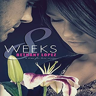 8 Weeks     Time for Love, Book 1              By:                                                                                                                                 Bethany Lopez                               Narrated by:                                                                                                                                 Beth Stewart                      Length: 4 hrs and 26 mins     78 ratings     Overall 4.0