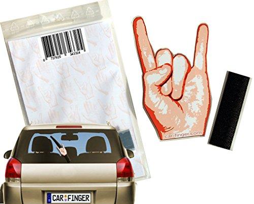 Car Finger Rock, witziges Auto - Zubehör für den Scheibenwischer Outdoor Kfz Tuning Zubehör in Form Einer Hand oder eines Finger ist EIN Muss für das Festival für Kinder, Damen und Herren