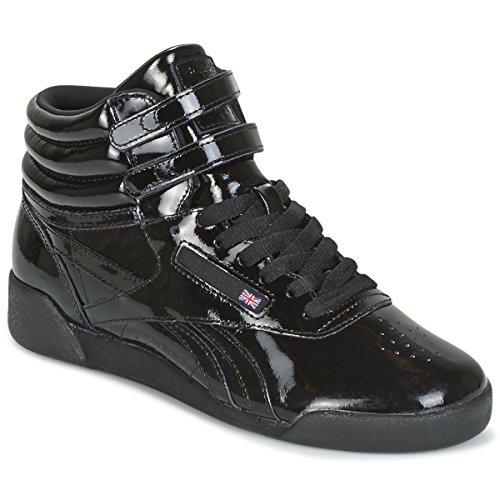 REEBOK Freestyle HI Sneaker Damen, Schwarz–(Black)