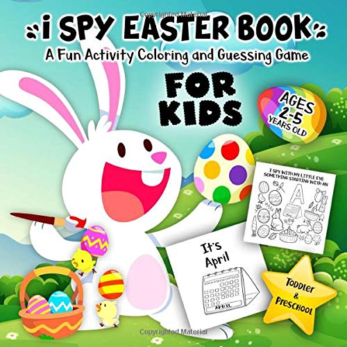 I Spy Easter Book for