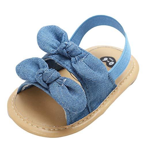 Innerternet Infant Sandalen Mädchen Girl Erste Wanderer krippe Schuhe Anti-Rutsch weiche Schuhe Baby Sommerschuhe Flach
