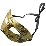 Ogquaton Herren Erwachsenen Maskerade Griechisch Römische Gesichtsmaske Für Kostüm Masked Ball Goldene Hohe Qualität
