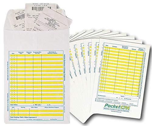 Receipt Organizer & Expense Envelopes. Large...