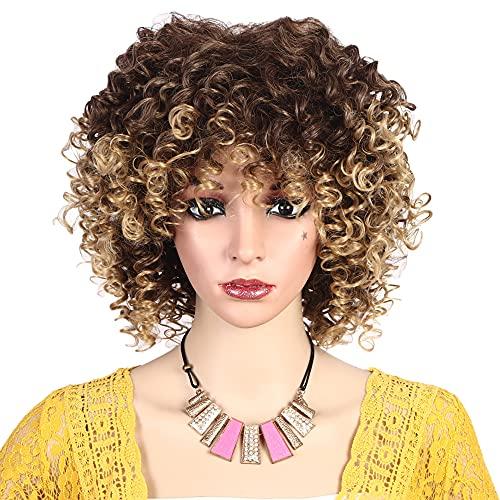 comprar pelucas afro rubias on line