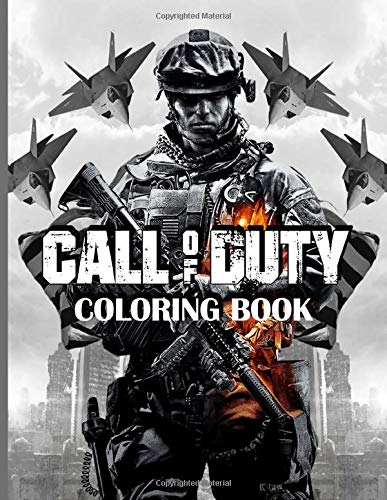 Call Of Duty Coloring Book: Coloring Books For Adults Call Of Duty! (Gifted Adult Colouring Pages Fun)