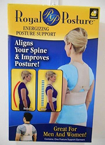 Royal Posture - Soporte energizante para postura, alivia tu columna vertebral y mejora la postura
