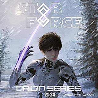 Star Force: Origin Series Box Set, Books 21-24                   Written by:                                                                                                                                 Aer-ki Jyr                               Narrated by:                                                                                                                                 Amanda Hendricks                      Length: 12 hrs and 39 mins     Not rated yet     Overall 0.0