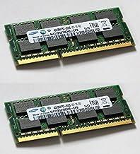 Samsung Z-40515579998 - Memoria RAM de 8 GB (2 x 4 GB, 204 Pin, DDR3-1066, PC3-8500, SO-DIMM), Color Verde