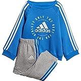 adidas 3 Streifen Jogger, Genschwarz, Mehrfarbig (True Blue/White), 2XL