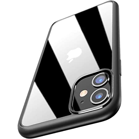 """Amozo - AutoFocus Series Soft Silicon TPU Sides Camera Protection Back Cover Case for iPhone 11 (6.1"""") - Transparent"""