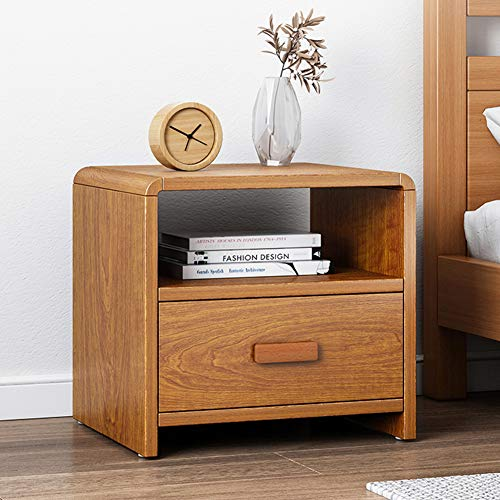 Modern Bedside Table with 2 Drawers for Bedroom Storage Drawers Small Nightstand Side Table Beside Cabinet End Table for Living Room