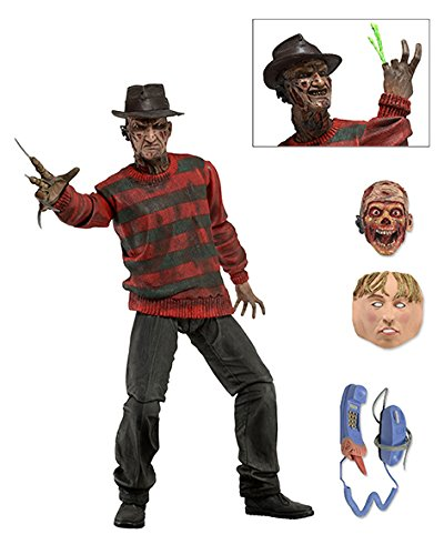 Ultimo Freddy Krueger A Nightmare On Elm Street 30Th Anniversary NECA Figura