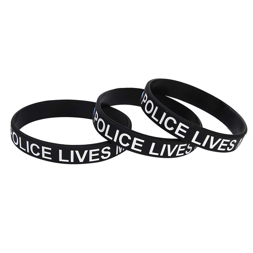 3pcs Austin Mall Fashionable Silicone Wristband Elastic Max 80% OFF Wear-Resisting Brace