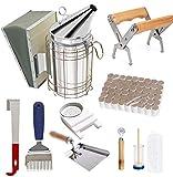 Beekeeping Supplies Tool Kit, Bee Hive Smoker Suit...