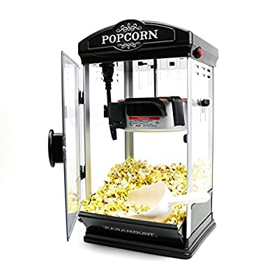 Popcorn Maker Machine by Paramount - New 8oz Capacity Hot-Oil Theater Popper