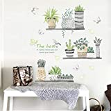 Zoom IMG-2 adesivi murali topgrowth diy cactus