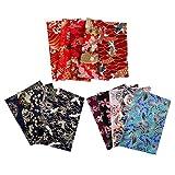 Hellery 15 Piezas 20x25cm Algodón Patchwork Telas Costura
