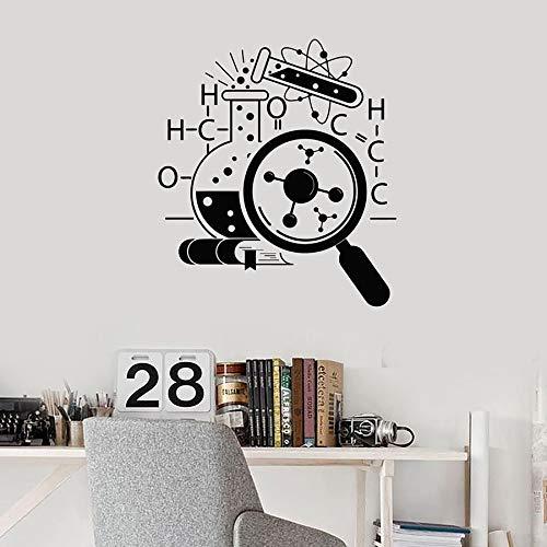 Tianpengyuanshuai behang voor school, chemie, atom, symbool voor wetenschappers, muurstickers, vinyl, vergrootglas