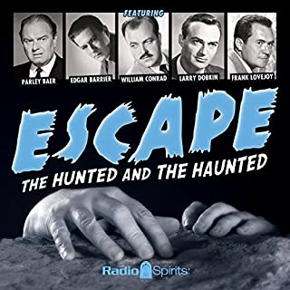 Escape: The Hunted and the Haunted audiobook cover art