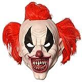 Original Cup |Dientes de máscara de látex |Payaso Accesorio de Terror |Máscara de Miedo |Disfraz de Halloween |Disfraz