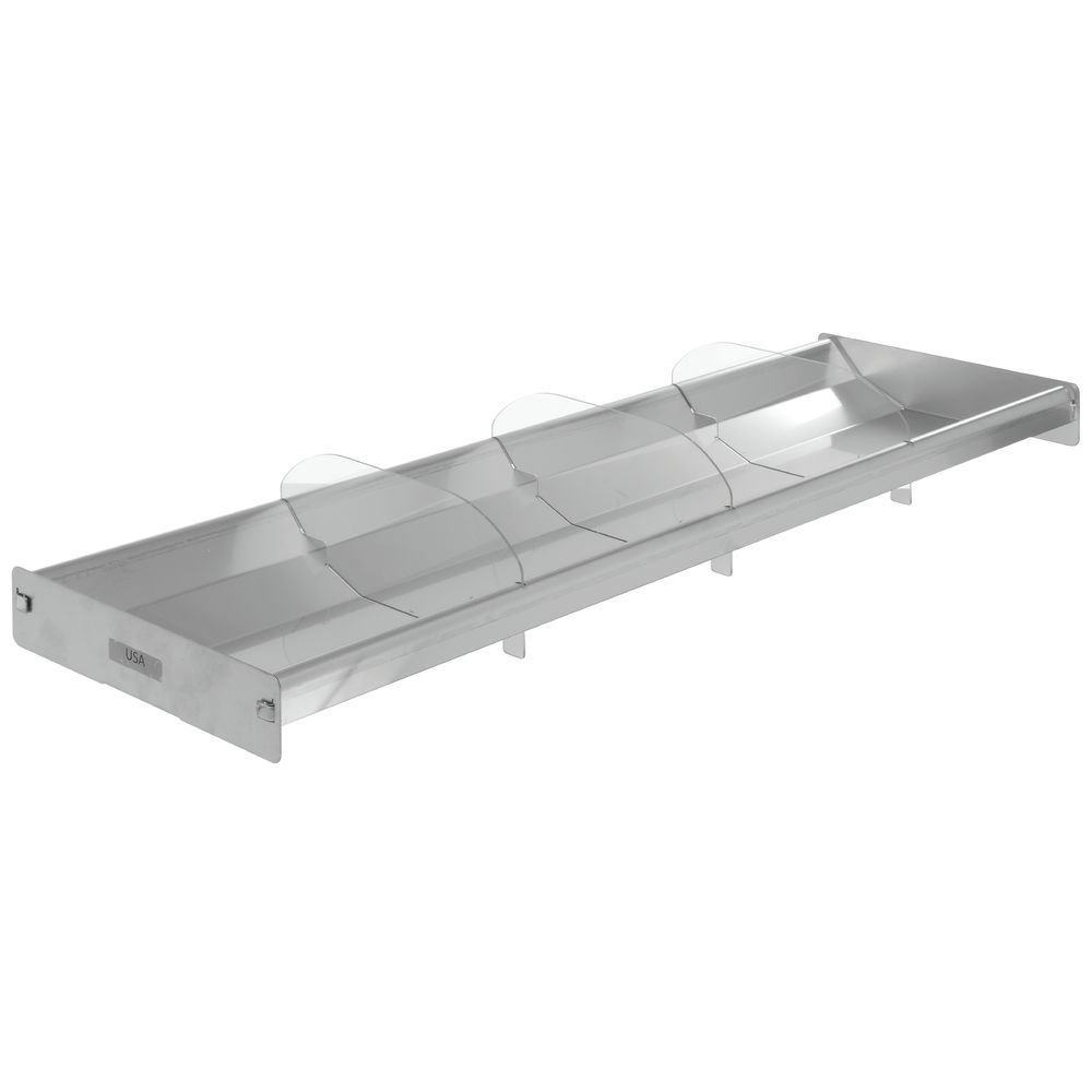 Seafood Merchandising Tray Reversible SEAL limited product Stainless - 1 28 2