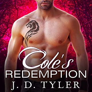 Cole's Redemption audiobook cover art