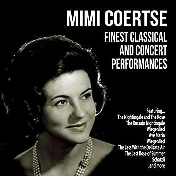 Mimi Coertse : Finest Classical and Concert Performances